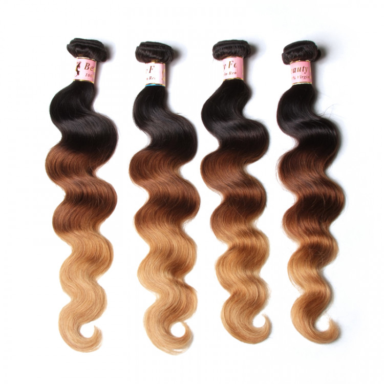 ombre hair weave