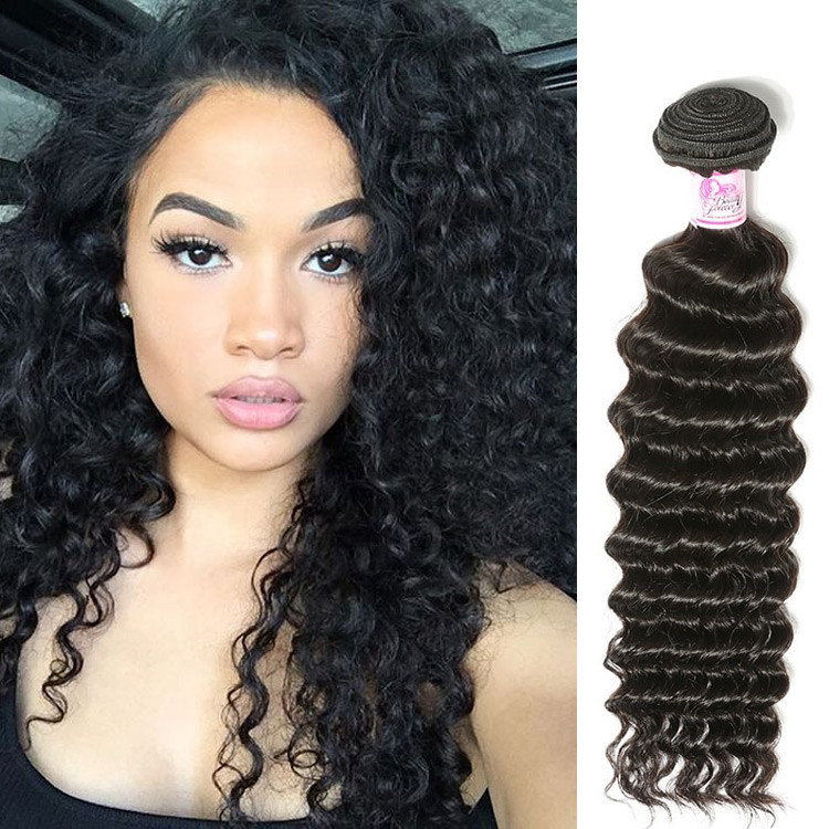 Beautyforever Deep Wave Brazilian Loose Deep Wave Human Hair Weave
