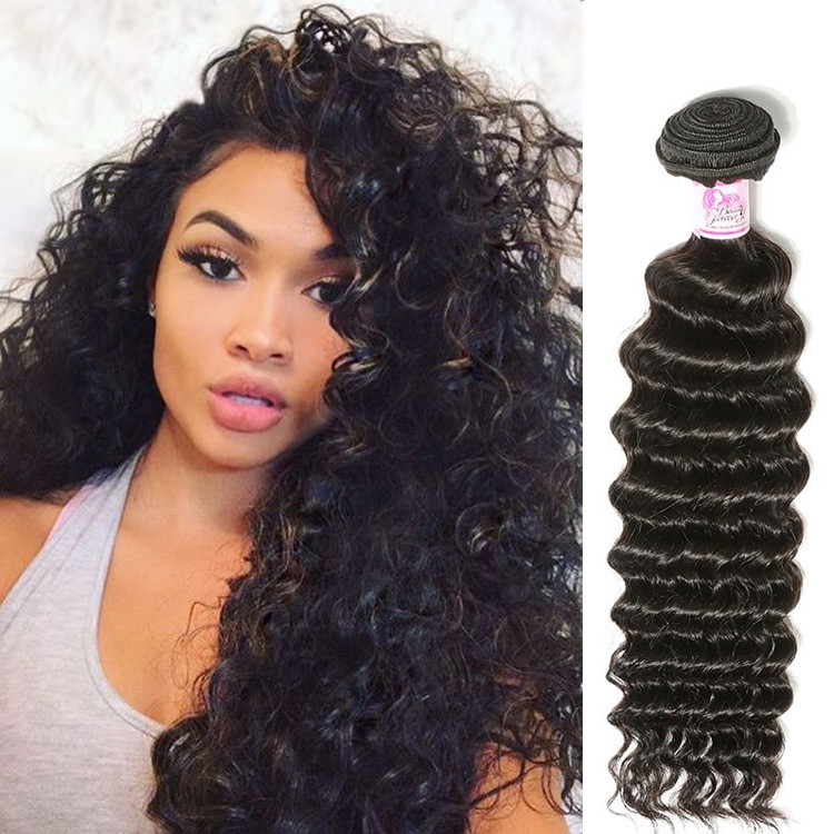 Beautyforever Best Selling Indian Deep Wave Virgin Hair Weave 4