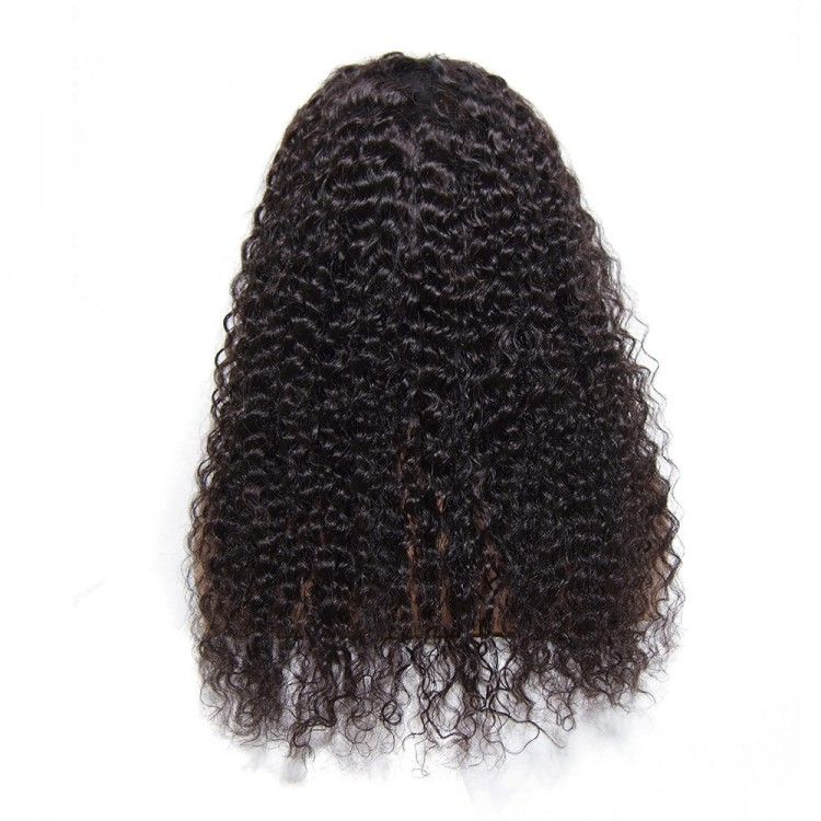 Jerry Curly Human Hair Lace Front Wig With Baby Hair