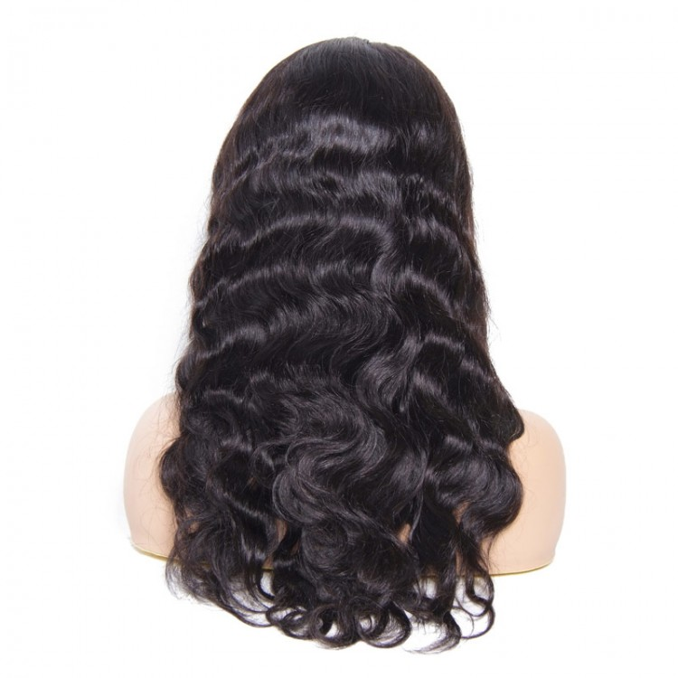 360 lace frontal wig human hair