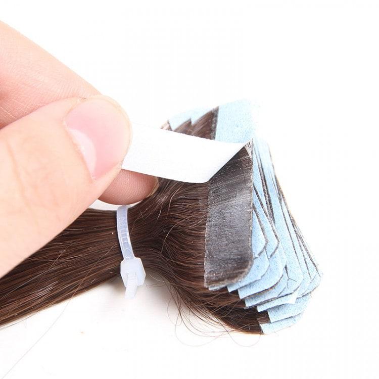 Pu Skin Weft  Hair