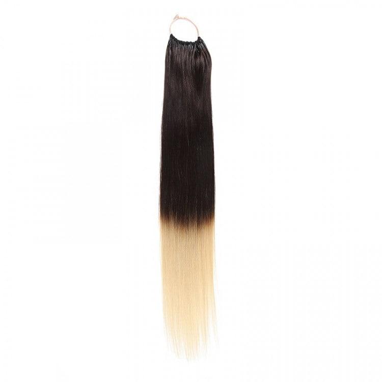 Beautyforever Natural Black 1b Straight String Human Hair Extensions