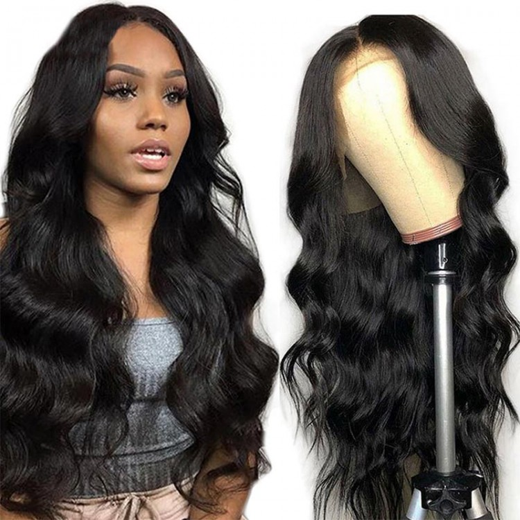 Beautyforever Body Wave 13x4 Lace Front Wigs Pre Plucked Human Hair Wig 180 Density Online Sale