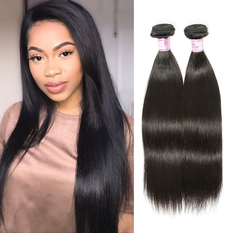 Beautyforever Virgin Straight Hair 100 Malaysian Hair 3bundles