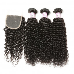 Jerry Curl Lace Closure