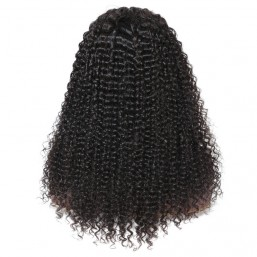 180 Density Jerry Curly 360 Lace Front Wigs