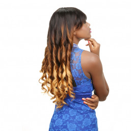 Ombre loose wave wigs