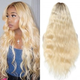 Ombre Blonde Wig Body Wave 13x6 Lace Front Wigs
