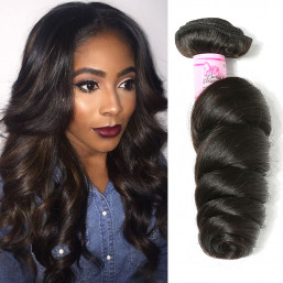 7A Unprocessed Loose Wave Hair Bundles - Beautyforever Hair