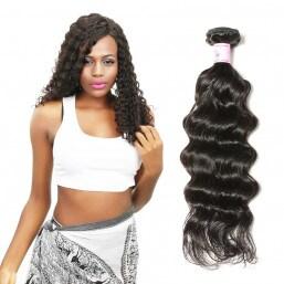 deep curly hair weave
