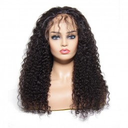 Beautyforever Jerry Curly Human Hair Lace Front Wig With Baby Hair 10-20Inch