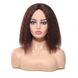 Kinky Straight Lob Wig