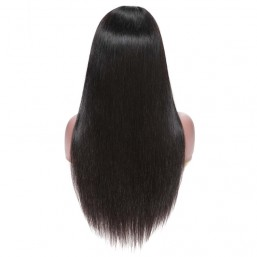 Straight Hair 360 Lace Frontal Wigs