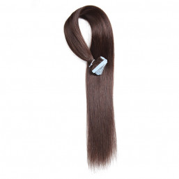 Beautyforever 2# Pu Skin Weft Fusion Remy Straight Hair Extensions