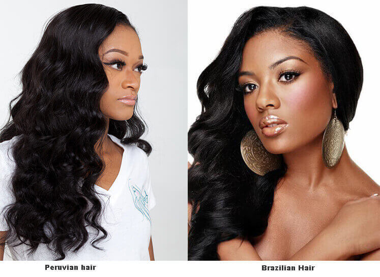 What Are The Differences Between Peruvian Hair And Brazilian Hair