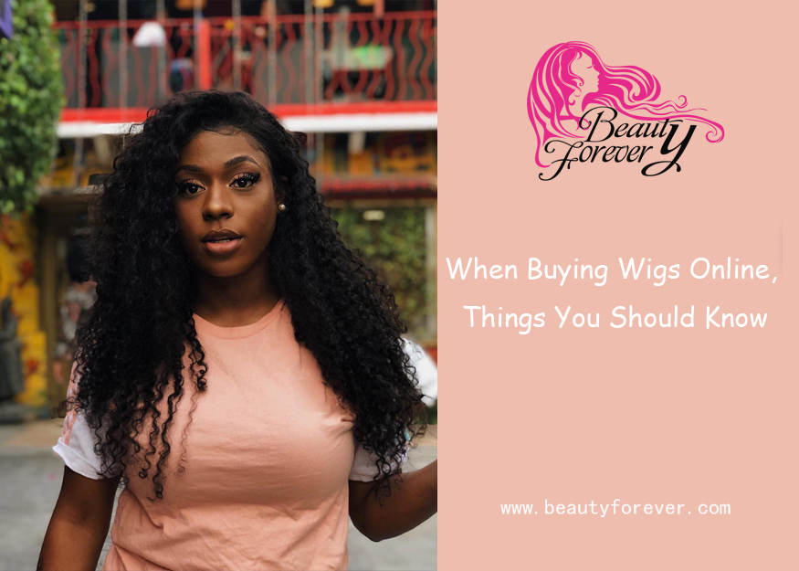 When Buying Wigs Online, Things You Should Know
