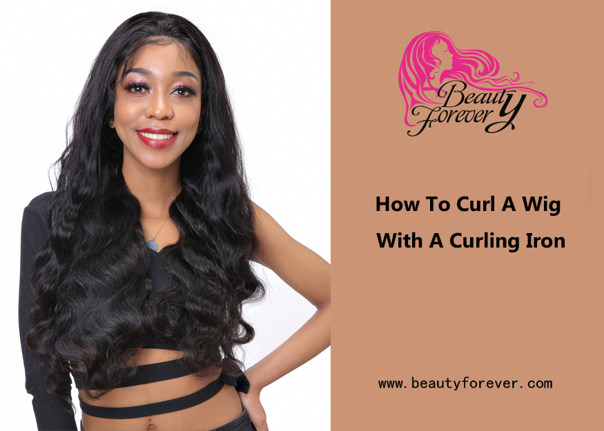 How To Curl A Wig With A Curling Iron