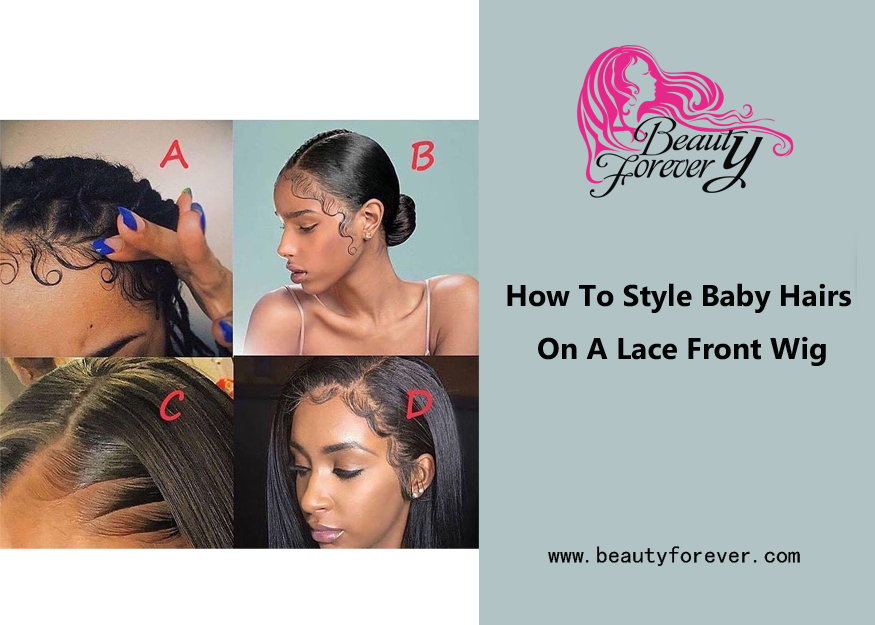 How To Style Baby Hairs On A Lace Front Wig