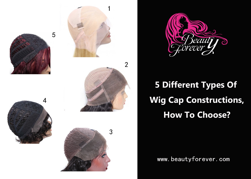 5 Different Types Of Wig Cap Constructions, How To Choose?