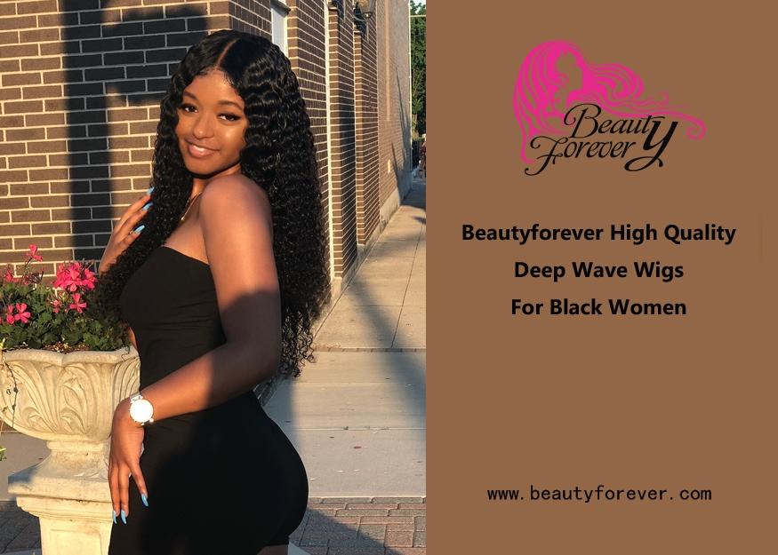 Beautyforever High Quality Deep Wave Wigs For Black Women