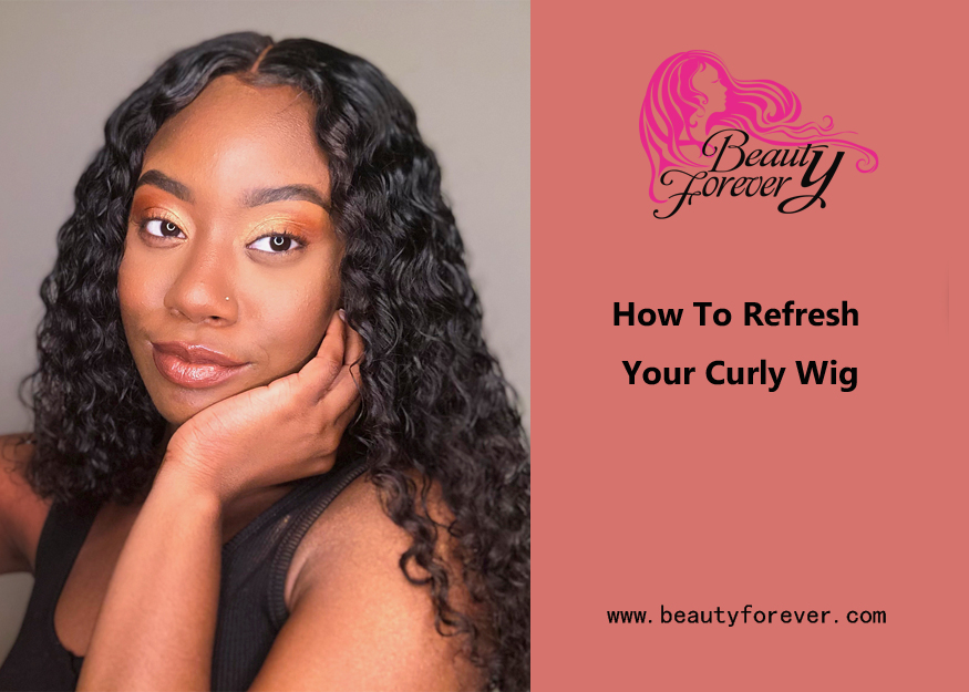 How To Refresh Your Curly Wig