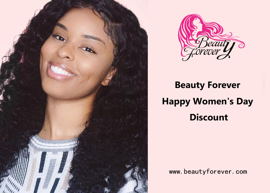 Beauty Forever Happy Women's Day Discount