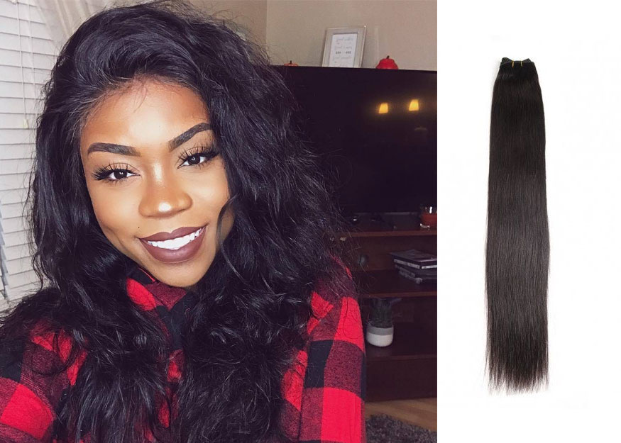 Beautyforever Exquisite Hair Weft  For Seamless Hair Look