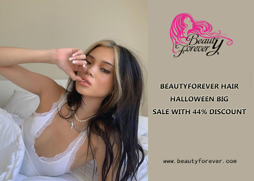 BEAUTYFOREVER HAIR HALLOWEEN BIG SALE WITH 44% DISCOUNT