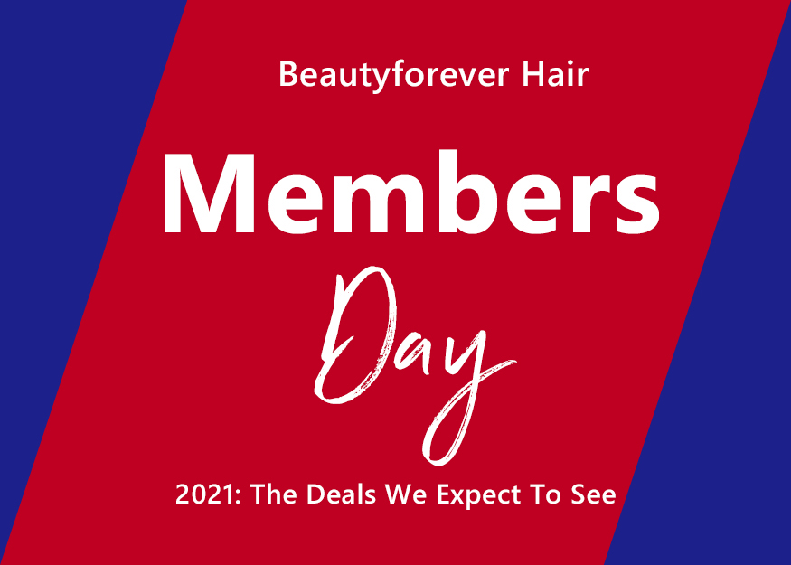 Beautyforever Hair Members Day 2021: The Deals We Expect To See