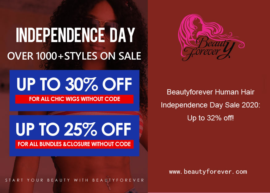 Beautyforever Human Hair Independence Day Sale 2020: Up to 32% off!