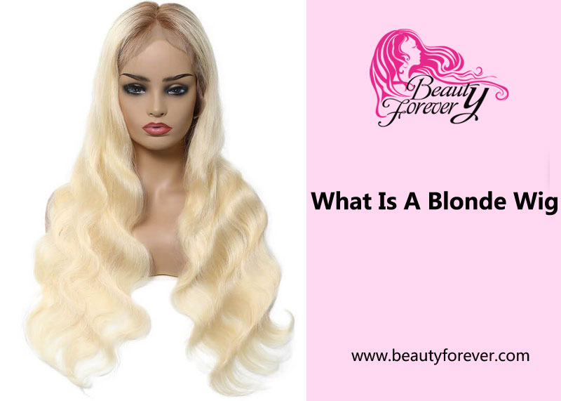 What Is A Blonde Wig