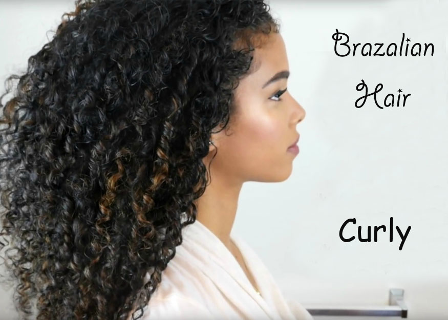 Brazilian Curly Hair for Christmas Party