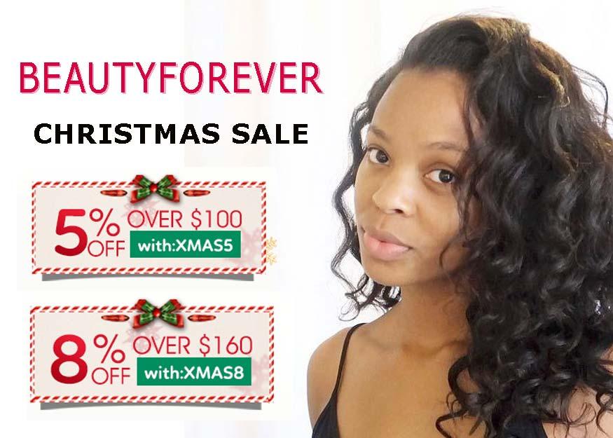 Human Hair Wigs Christmas Sales 2017