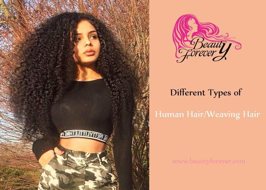 Different Types Of Human Hairweaving Hair Virgin Texture Hair