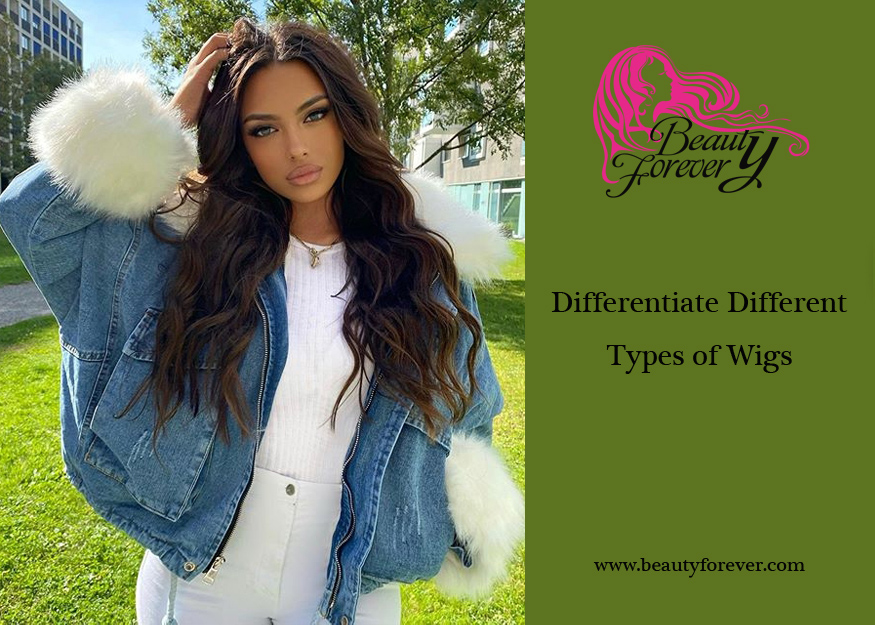 Differentiate Different Types of Wigs