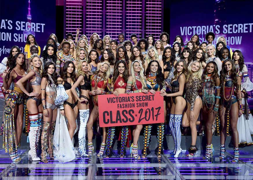 Best 2017 Victoria's Secret Fashion Show Models