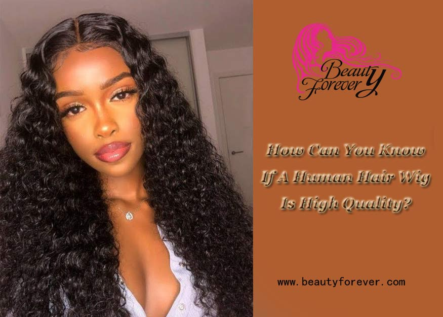 How Can You Know If A Human Hair Wig Is High Quality?