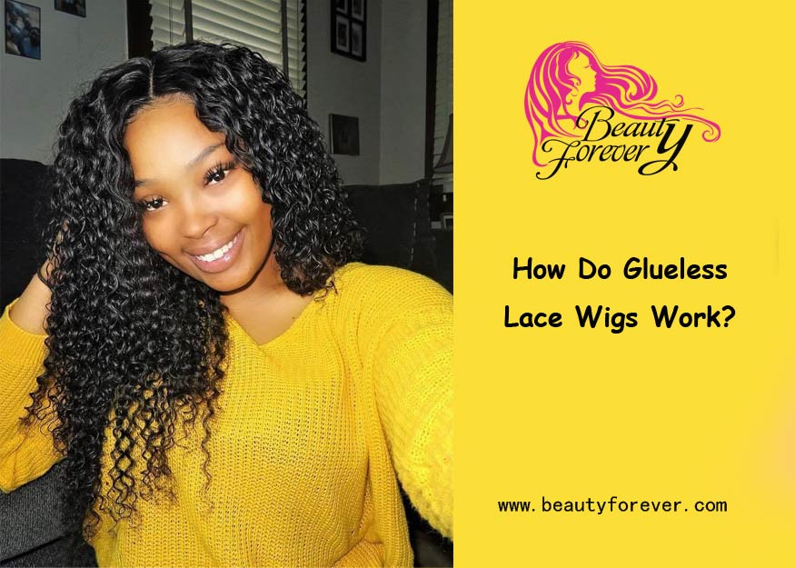 How Do Glueless Lace Wigs Work?
