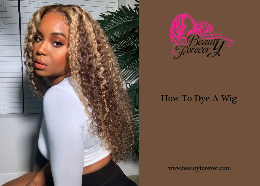 How To Dye A Wig