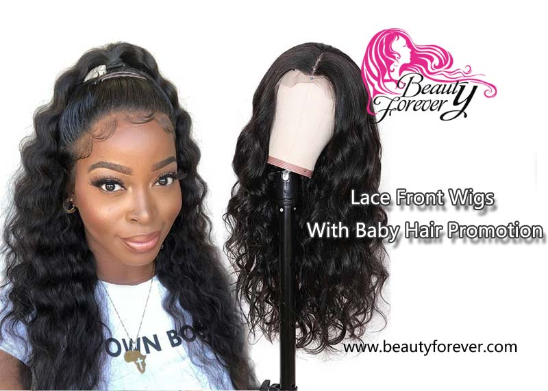 Lace Front Wigs With Baby Hair Promotion