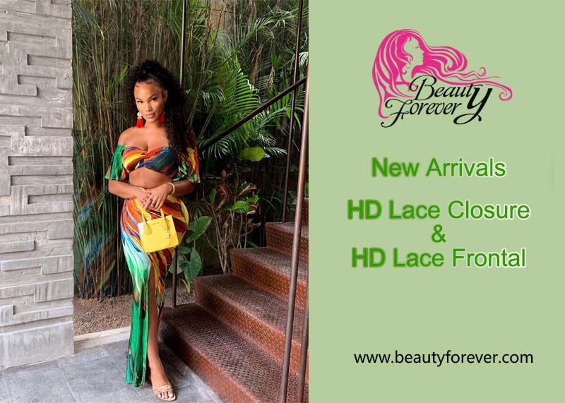New Arrivals HD Lace Closure And Lace Frontal