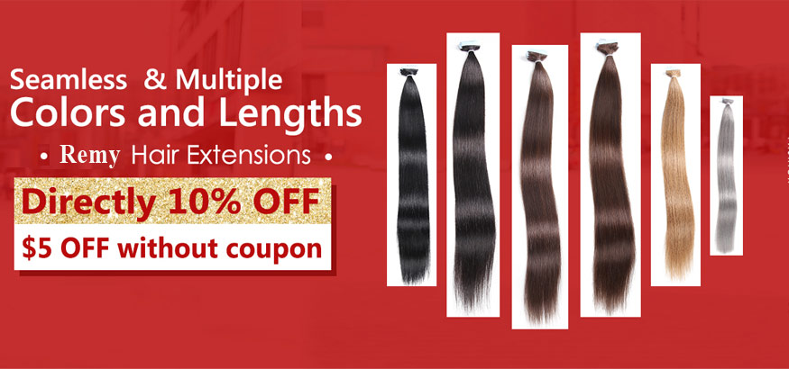 Remy Human Hair Extensions Big New Year Sales