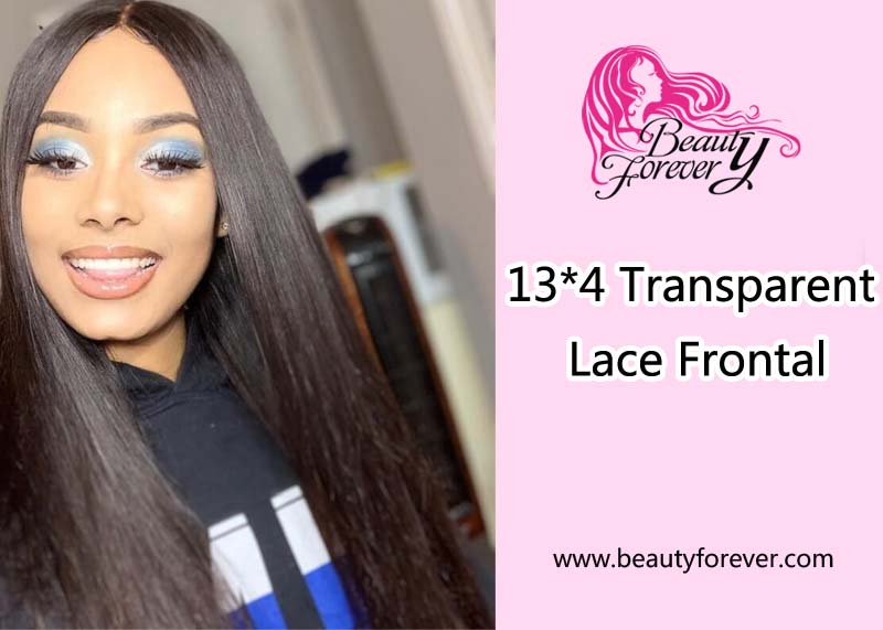 13*4 Transparent Lace Frontal New Arrival In Beauty Forever
