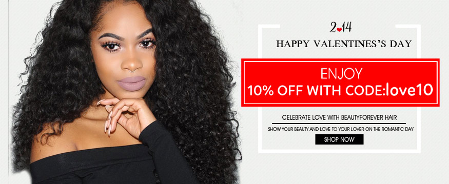 Valentine's Day Hair Sale 10% OFF | Beauty Forever