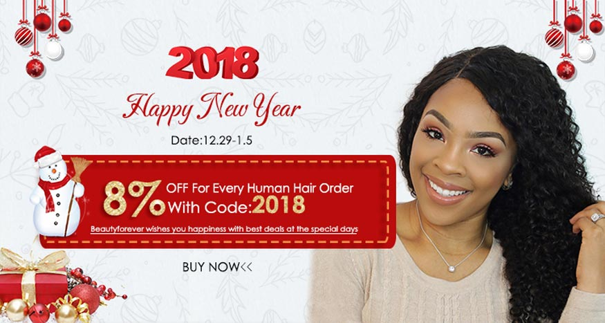 Virgin Hair Bundles with Closure New Year Sales