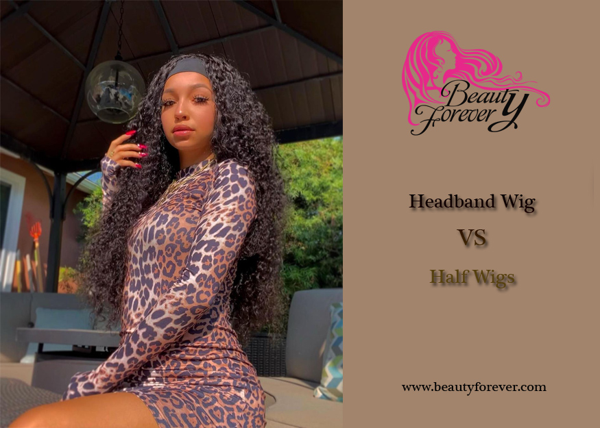 What Is The Difference Between A Headband Wig And Half Wigs?