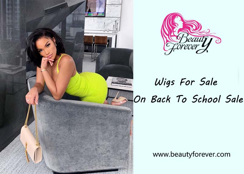 Wigs for sale on back to school sale