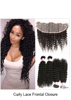 Malaysian curly hair closure