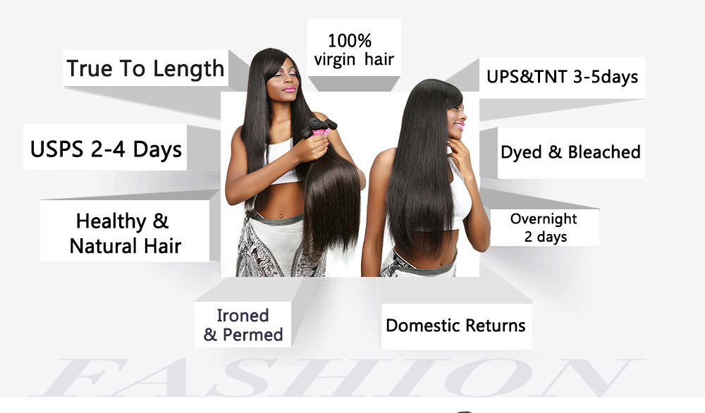 Indian straight Human Virgin Hair